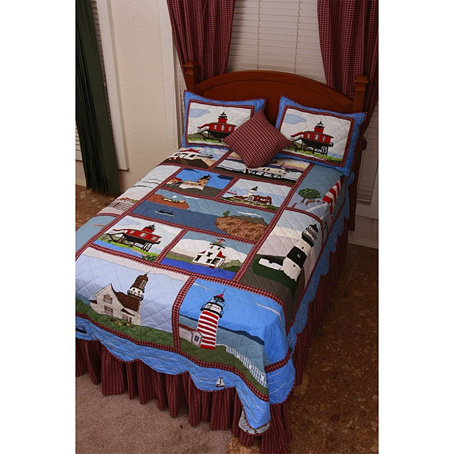Twin Size Bed In A Bag For Boys