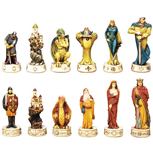King Arthur Fantasy Chess Set 11931825 Overstock Com