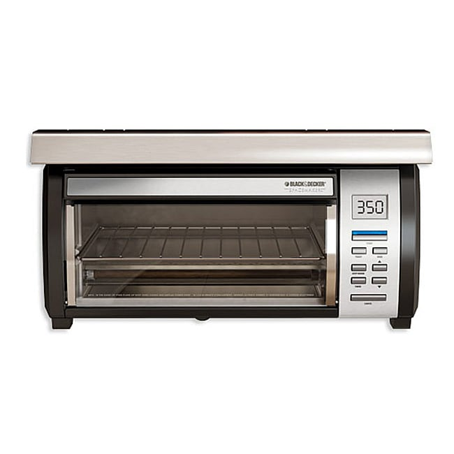 Under Cabinet Convection Oven Black & Decker SpaceMaker Digital Toaster Oven - 11934784 ...