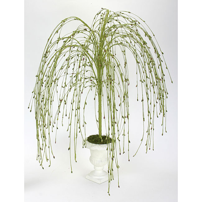 Faux Small Weeping Willow Tree With Berries