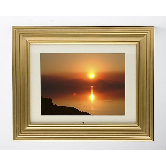 Invion Dpf 10p306 Gold Digital Picture Frame 11942637