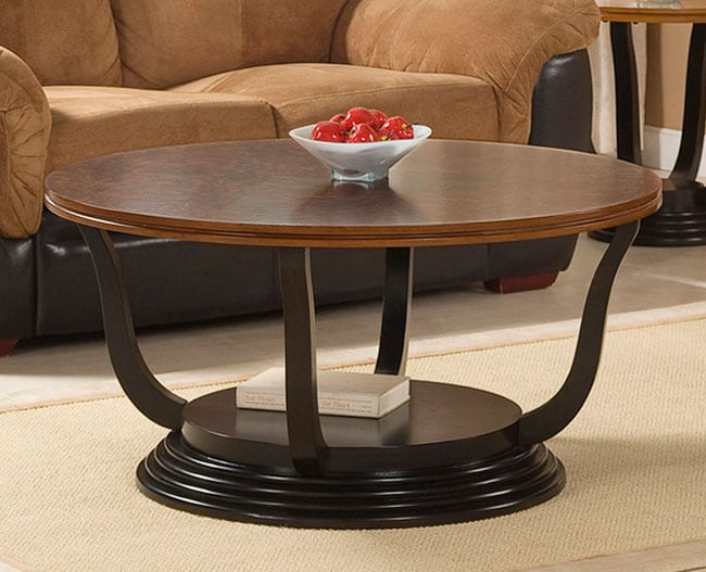 Two Tone Coffee Table Overstock Shopping Great Deals