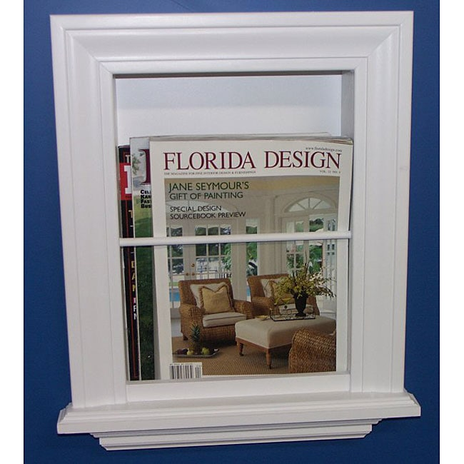 Recessed In-wall Magazine Rack - Overstock™ Shopping - Big ...
