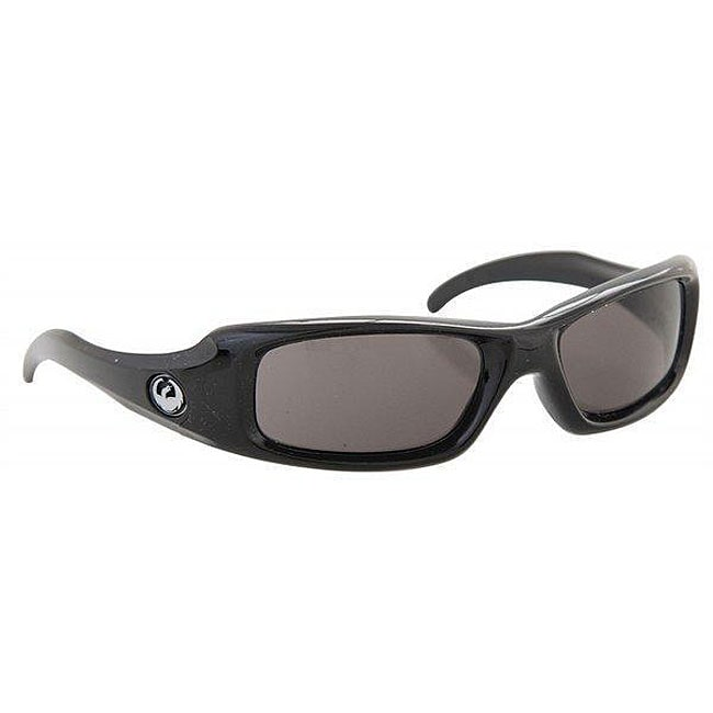 Dragon Grifter Black Sunglasses With Grey Lenses