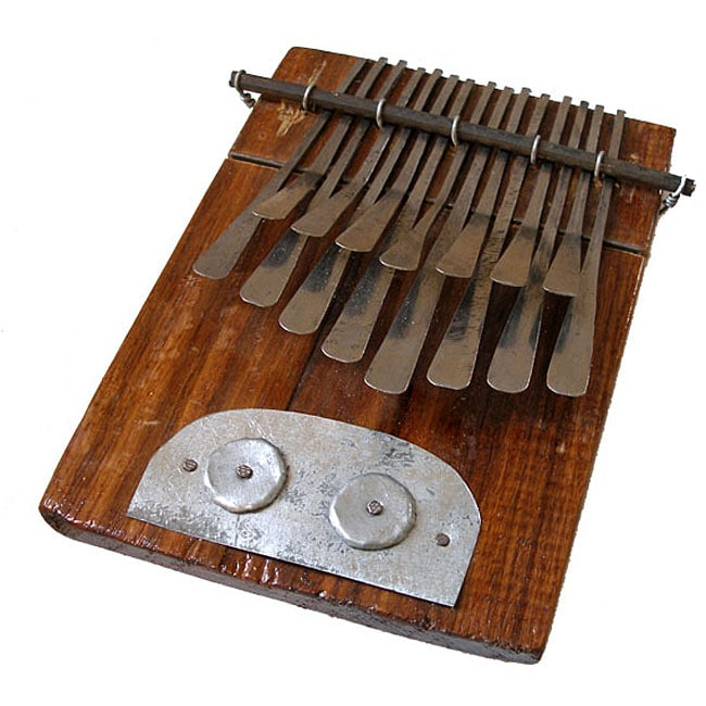 recycled 15 key mbira instrument zimbabwe overstock shopping great deals on global crafts. Black Bedroom Furniture Sets. Home Design Ideas
