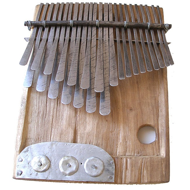 recycled 24 key mbira instrument zimbabwe 12013657 shopping great deals on. Black Bedroom Furniture Sets. Home Design Ideas