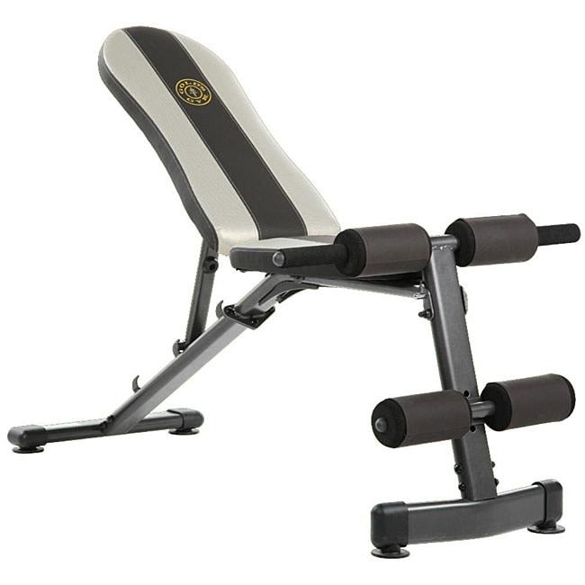 Gold S Gym Utility Bench 12083181 Overstock Com