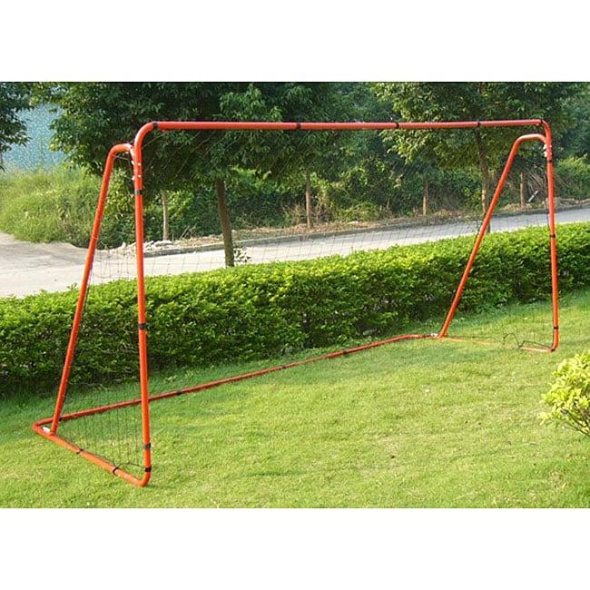 TNT 12x6-feet Backyard Steel Soccer Goal with Net ...