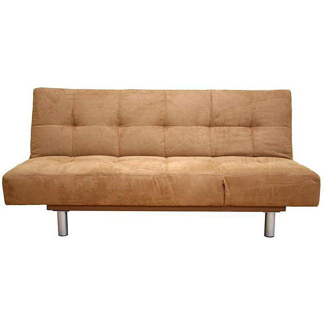 Microfiber Sofa Beds: Brown Microfiber Futon Sofa Bed