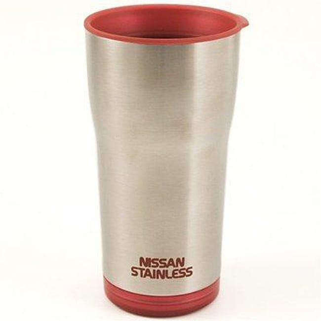 Nissan Red 14 Ounce Stainless Steel Insulated Travel