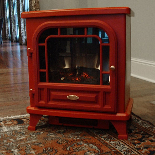 Americana Freestanding Red Electric Stove 12229244