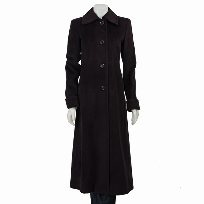 Jones New York Women S Wool Blend Coat 12230100
