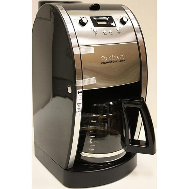 Automatic Grind And Brew Coffee Maker Cuisinart DCC-690FR Grind & Brew 10-cup Automatic Coffee ...