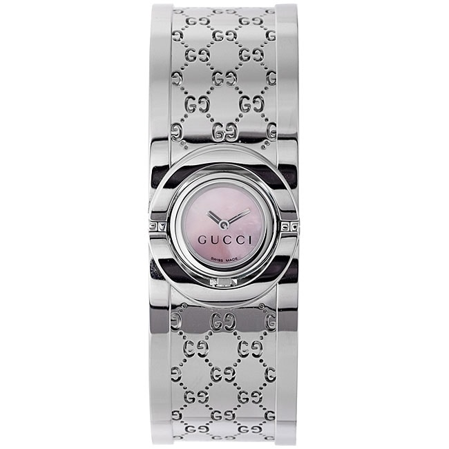 1b75d38d529 Gucci Womens 112 Stainless Steel Twirl Watch on PopScreen