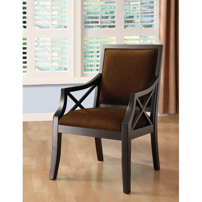 Seville Square Back Chair Cioccolato 12318379