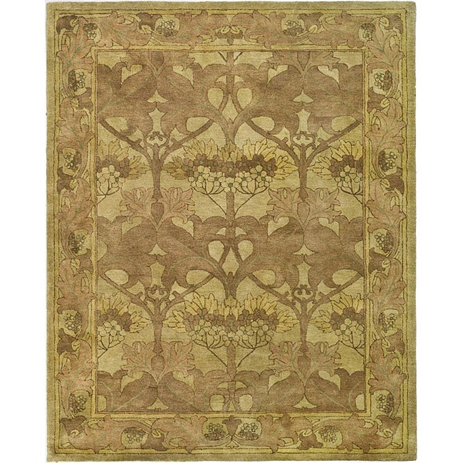 Arts And Crafts Rugs Pottery Barn: Safavieh Handmade Arts And Craft Beige Wool Rug (6' X 9