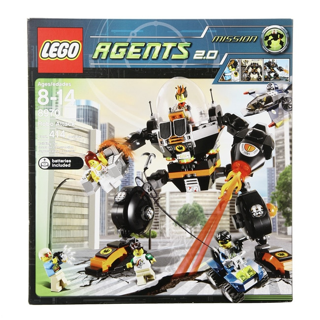 Lego Agents 2.0 Mission Robo Attack Set - 12373343 ...