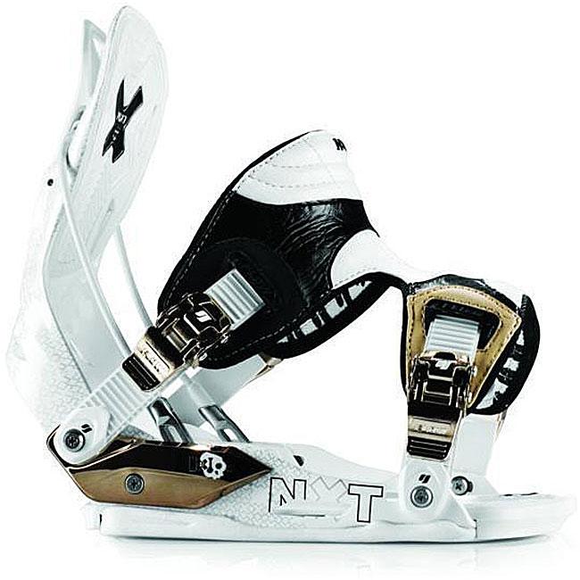 Flow NXT AT Men's Medium 2009 White Snowboard Bindings