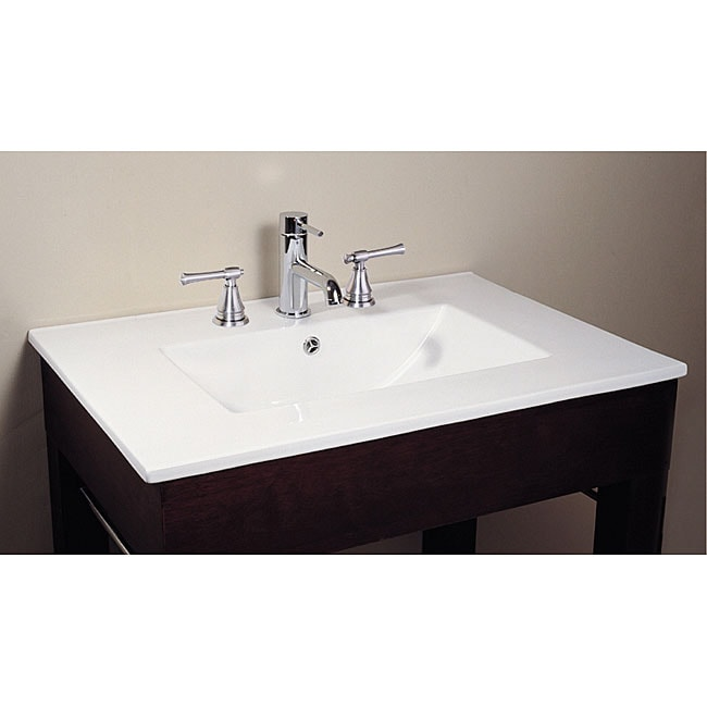 Avanity Vitreous China Countertop Integrated 31 Inch