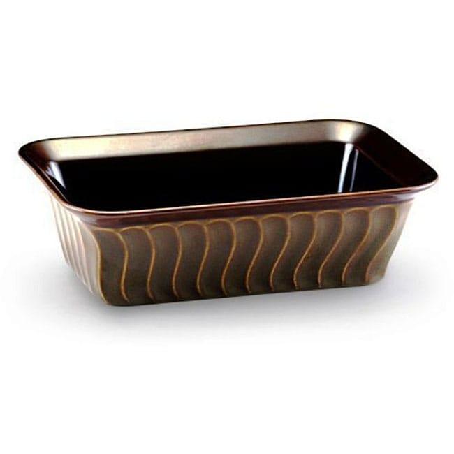 Paula Deen 9x5 Inch Stoneware Loaf Pan 12382023