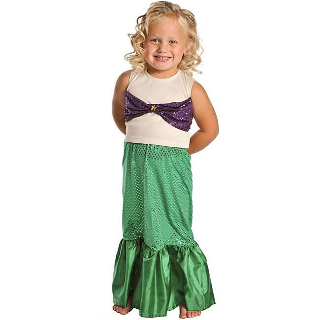Little Adventures Deluxe Cinderella Costume: Little Adventures Mermaid Dress-up Costume (Large