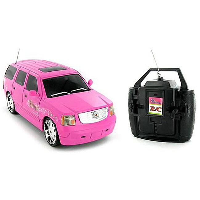 Pink Cadillac Escalade 1:28 Electric RTR RC Car