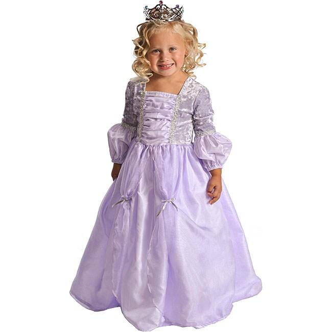 Little Adventures Deluxe Cinderella Costume: Little Adventures Deluxe Rapunzel Dress-up Costume (Small