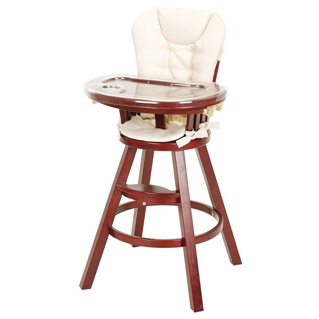 Graco Classic Wood High Chair in Cherry - 12541754 ...