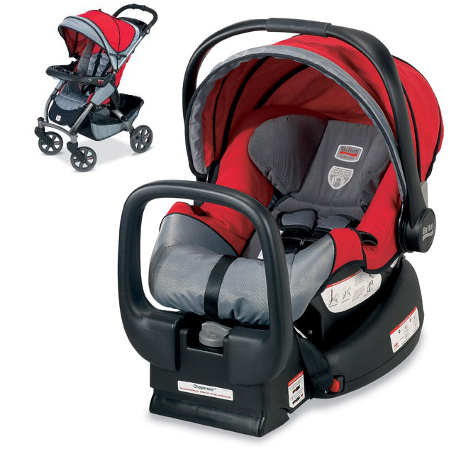 Britax Chaperone Travel System Red Mill