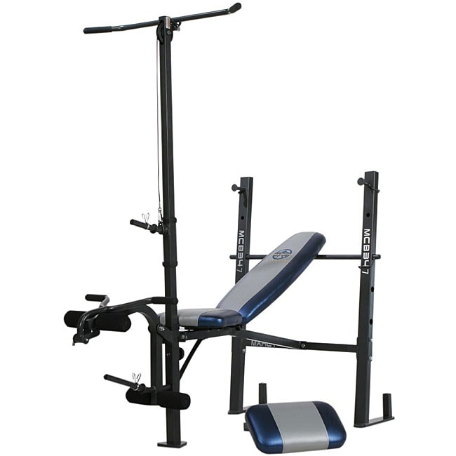 Marcy Standard Workout Bench With Lat Pull Down 12603143
