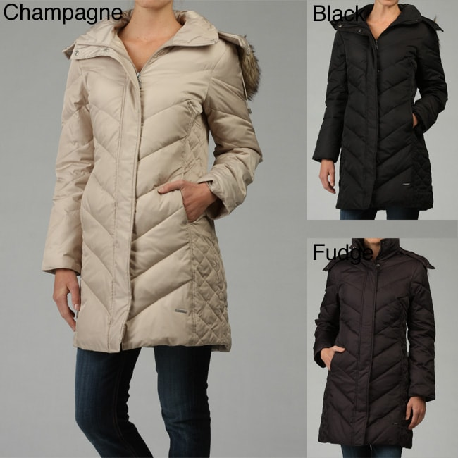 Kenneth Cole Reaction Women S Hooded Coat 12647307