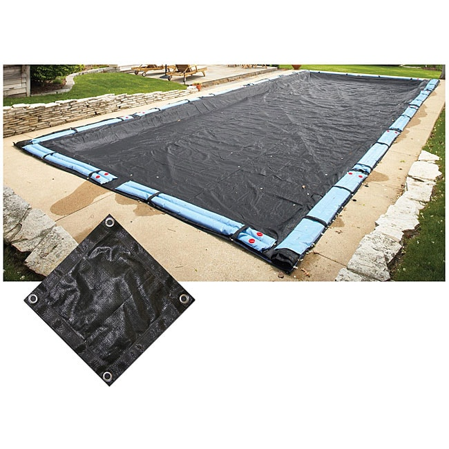 Above Ground 18x36 Foot Rectangular Mesh Pool Cover
