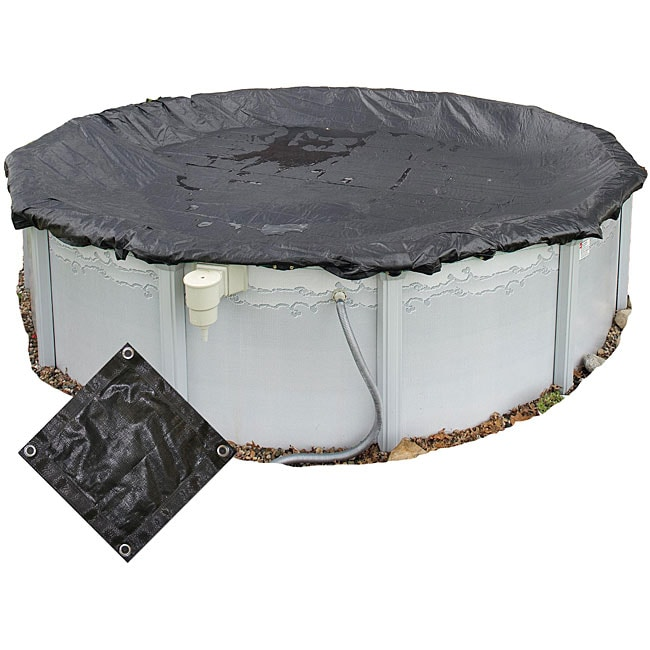 Rugged 24 Foot Round Above Ground Mesh Pool Cover