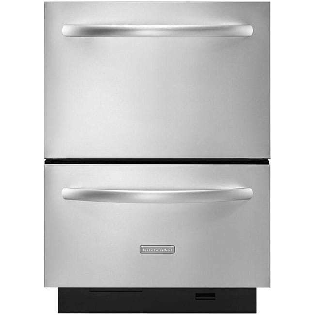 Kitchenaid Whisper Quiet Dishwasher: KitchenAid Architect Series II Double-drawer Whipser Quiet