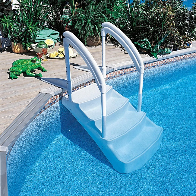 Royal Entrance Pool Steps 12677627 Overstock Com