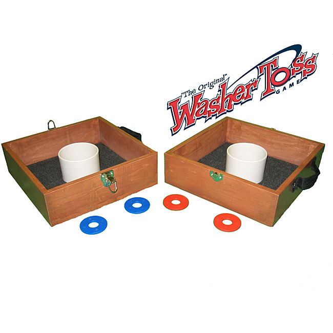 The Original Washer Toss Outdoor Game With Washers And