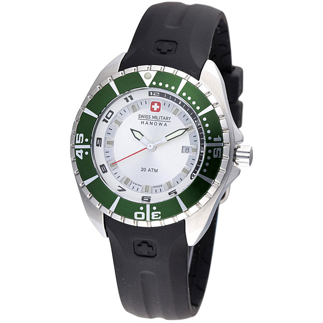Swiss Military Hanowa Women's Sealander Rubber Strap Diver