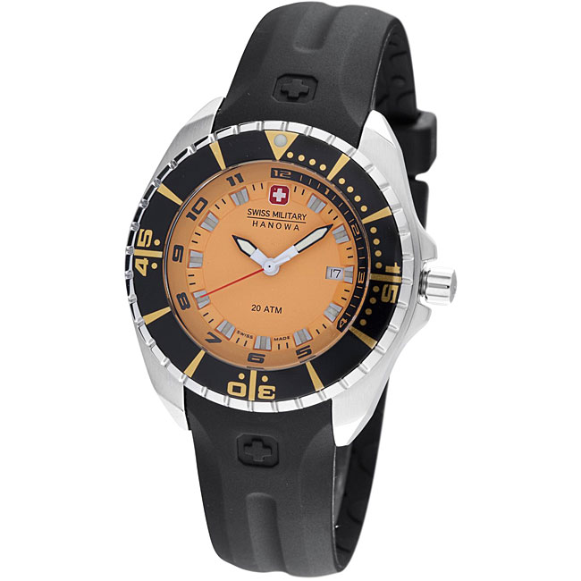 Swiss Military Hanowa Women's 'Sealander' Orange Dial