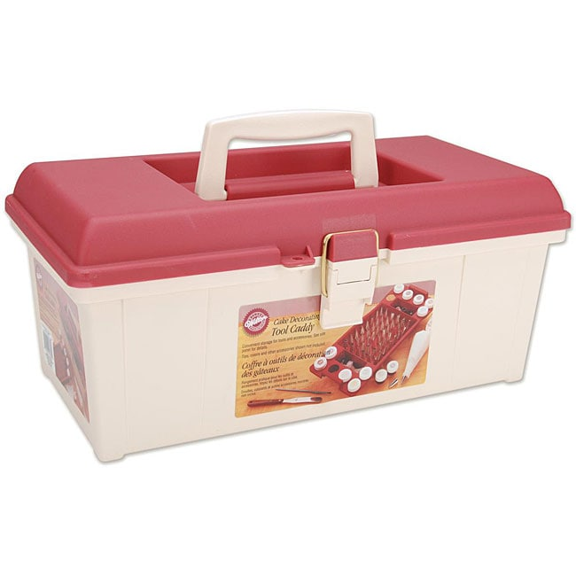 Wilton Cake Decorating Tool Caddy 12750855 Overstock
