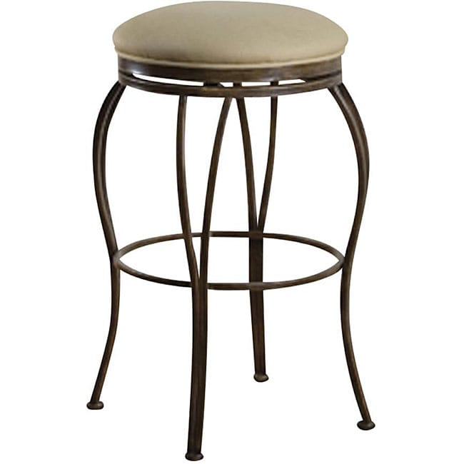 Counter Stools Overstock: Newsome 24-inch Swivel Counter Stool