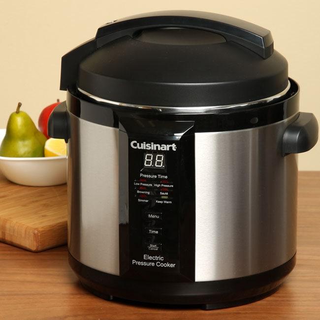 Cuisinart Cpc 600fr 1000 Watt 6 Quart Electric Pressure
