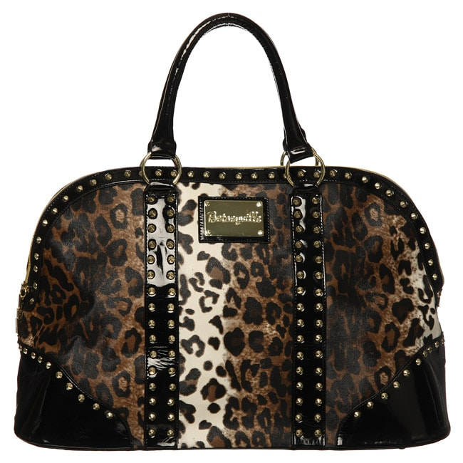 82868f6412b5 Betseyville by Betsey Johnson Cheetah Print Overnighter Bag