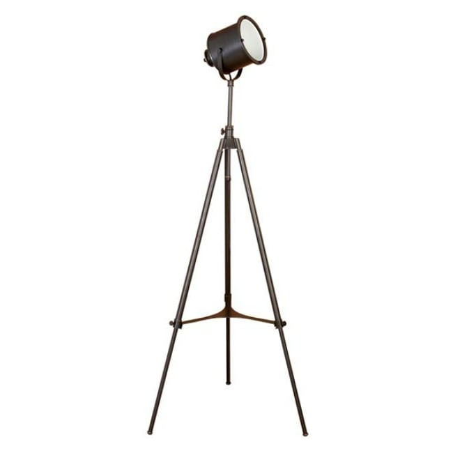 Adjustable Photographer S Metal Tripod Floor Lamp