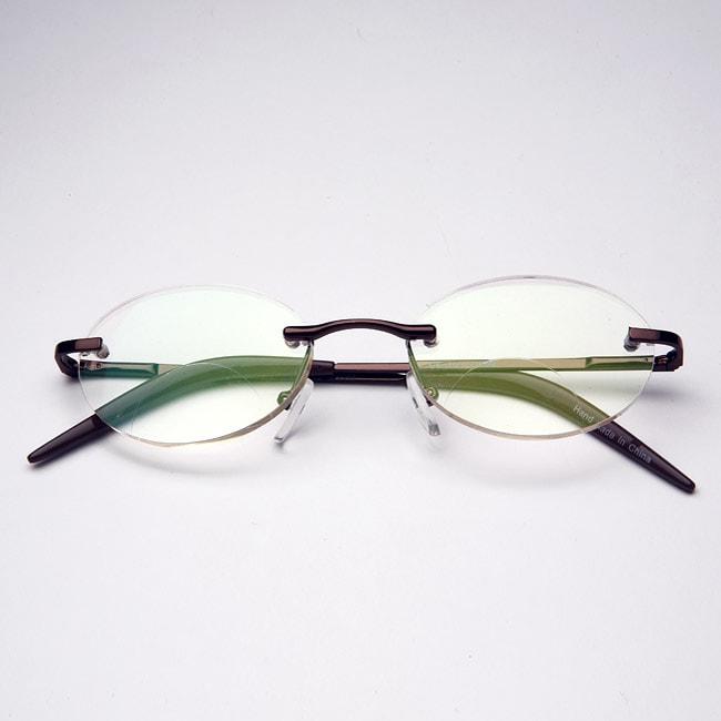 fc203005cc Square Rimless Reading Glasses