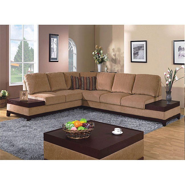 Sites Like Overstock For Furniture: Furniture Of America Raul 3-piece Sectional With End