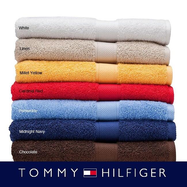 Tommy Bahama Bathroom Towels: Tommy Hilfiger Solid 3-piece Towel Set