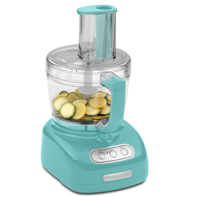 Kitchenaid Rkfp750aq Aqua 12 Cup Ultra Wide Mouth Food