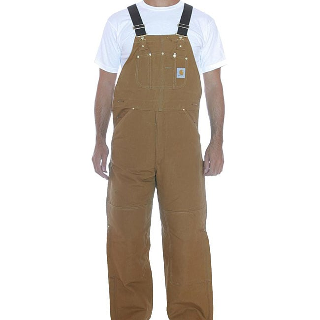 Carhartt Quilted Lined Duck Bib Overalls 13054501