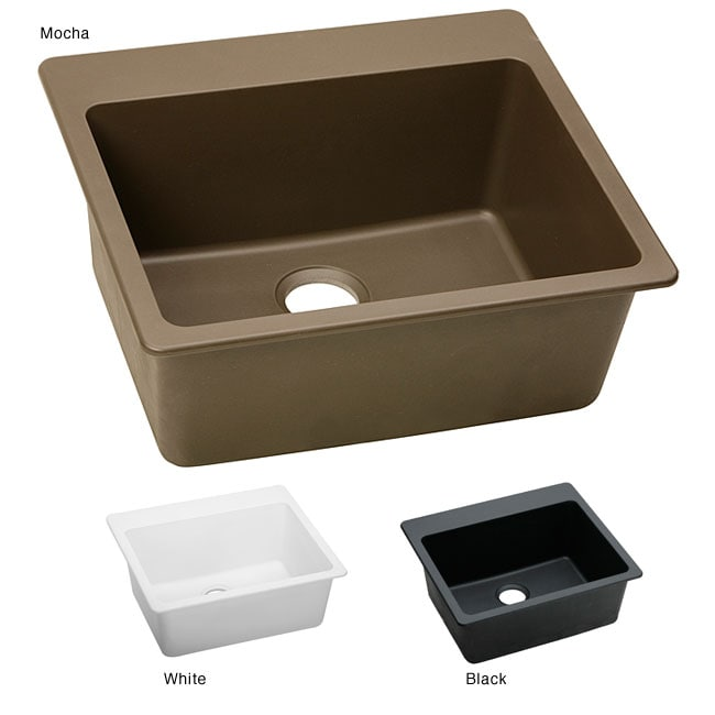 Elkay Elg2522 E Granite 25x22 In Single Bowl Top Mount