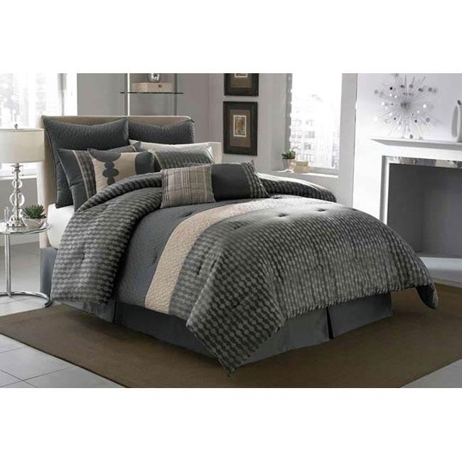 Mercer California King-size Comforter Set - 13113516 ...
